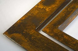 ACP1 - polished coated corten steel